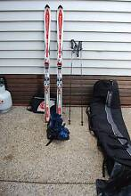 Complete ski and boots pack Ashgrove Brisbane North West Preview