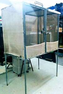 Sturdy Critter Cage Enclosure (galvanised steel) outdoor indoor Trinity Beach Cairns City Preview