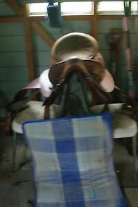 Saddle, stock/working, good condition, bridle available Hornsby Area Preview