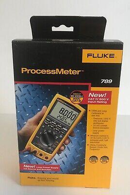 Fluke 789 Processmeter -- Brand New In Box -- Digital Multimeter Loop Calibrator