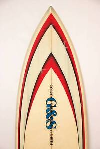 G&S GORDON & SMITH SURFBOARD THRUSTER TERRY BISHOP JIM DAVIDSON Hornsby Hornsby Area Preview