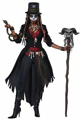 Voodoo Doctor Costume (Voodoo Magic Witch Doctor Women)