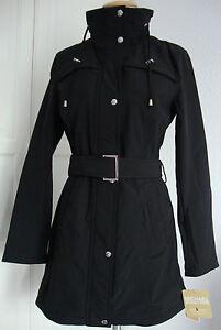 michael kors trenchcoat mantel jacke parka damen mit kapuze gr l neu mit etikett ebay. Black Bedroom Furniture Sets. Home Design Ideas