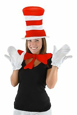 Dr. Seuss The Cat in the Hat Adult Accessory Kit by elope](Cat In The Hat Costume Adult)
