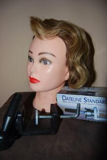 Mannequin Head and 2 clamps $65 ono Scarborough Stirling Area Preview