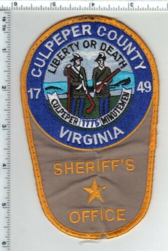 Culpeper County Sheriff (Virginia) Uniform Take-Off Shoulder Patch