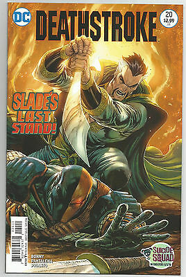 DEATHSTROKE # 20 * NEAR MINT