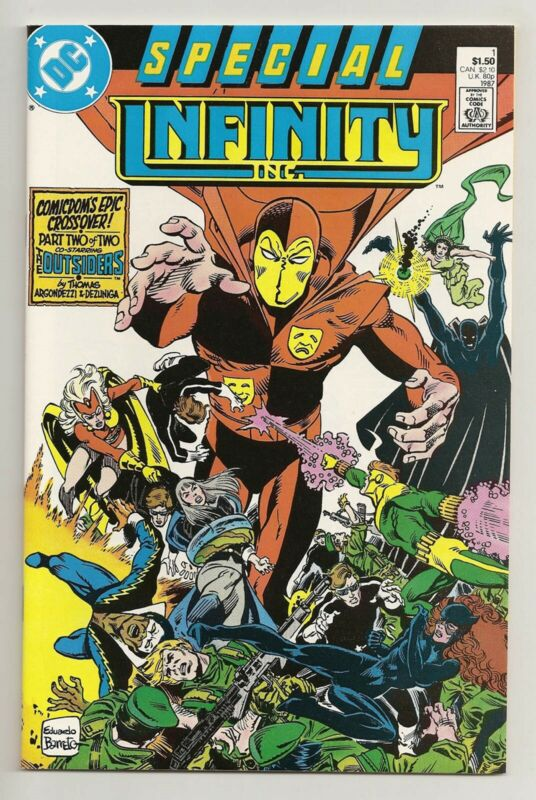 Infinity Inc Special #1 DC Comics 1987 NM Outsiders