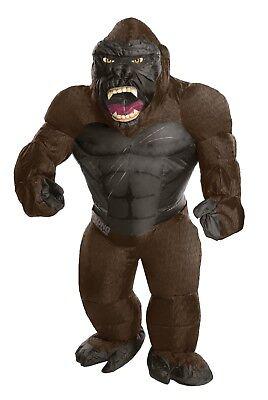g Kong - Adult, Unisex - Aufblasbarer Gorilla - Affen Kostüm (Adult Gorilla-kostüm)