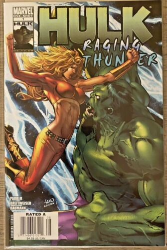 Marvel Comics HULK Raging Thunder 1