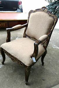 Vintage Wooden Chair Armchair