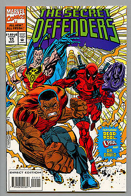 THE SECRET DEFENDERS #15 DEADPOOL CAGE NM- 9.2