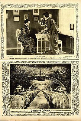 Hammer-Kostüme & Hüte von Altmann Berlin Modefotographie & Deinhard Cabinet 1914