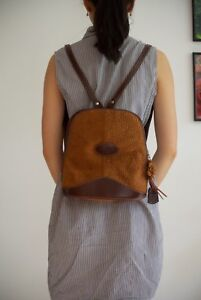 GENUINE CAPYBARA LEATHER backpack from Argentina