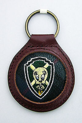 Cartoon Tweety Bird Leather Embroidered Keyring Authentic Warner Brothers