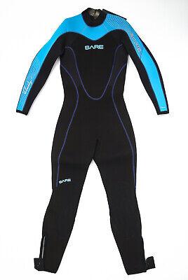 Bare Sport Hooded Shortie 7mm Wetsuit Womens Size 8T Pink Scuba Snorkel Surf