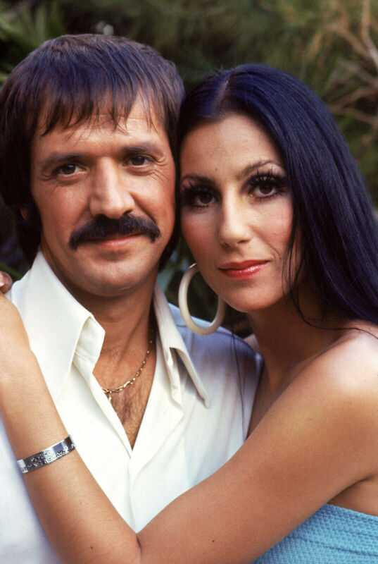 SONNY AND CHER 8X10 GLOSSY PHOTO PICTURE