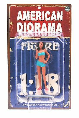 "CAR WASH DOROTHY AMERICAN DIORAMA 1:18 Scale Figurine 3.5"" Figure"