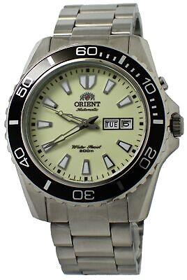 Orient Mako XL FEM75005R9 Luminous Dial Stainless Steel Men's Watch