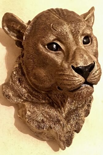 MOUNT MOUNTAIN LION  STATUE WILD CAT SCULPTURE