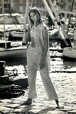 Mode, 2 Photographies Saint Tropez 1962 © Stern Hamburg