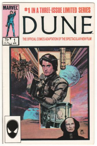 DUNE #1 ~ Marvel Official Comics Adaptation ~ Sienkiewicz VF