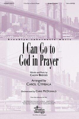 Church Choir Anthem: I CAN GO TO GOD IN PRAYER (BrklnTab) - Multiple LOTS of 10