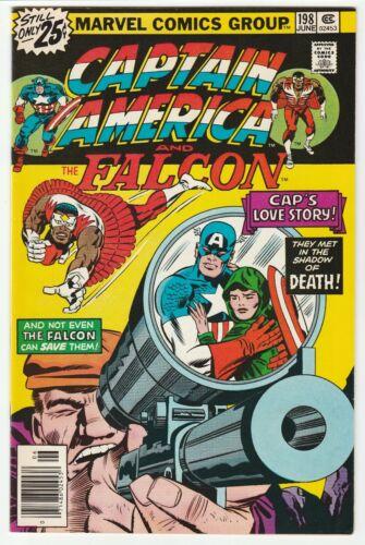 Captain America #198 June 1976 VF 8.0 Marvel Comics