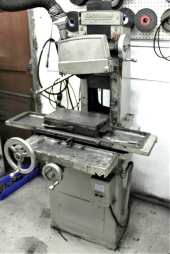 "8"" W 15"" L Bridgeport 815 SURFACE GRINDER with Magnetic Chuck & Vacum Chuck"
