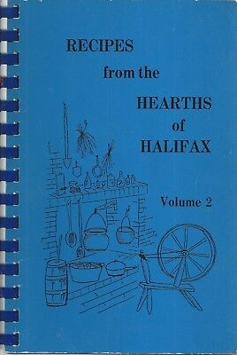 ROANOKE RAPIDS NC 1983 HALIFAX ACADEMY COOK BOOK RECIPES FROM THE HEARTHS vol 2