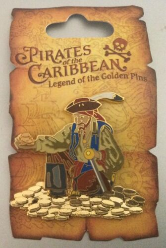 Pin 47071 Pirates of the Caribbean - Pirate with Gold Coins Pin