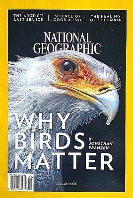 National Geographic Why Birds Matter Cover Healing Of Colombia Jan  2018 New