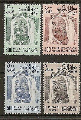 BAHRAIN 1976-2000 SHAIKH 300f TO 1d ORIGINAL SHINY GUM PRINTING MNH