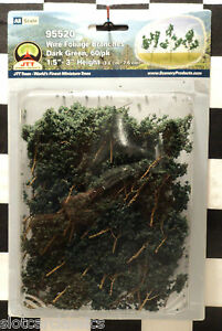JTT SCENERY 95520 WIRE FOLIAGE BRANCHES DARK GREEN 1.5