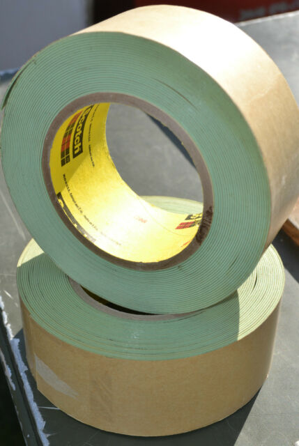 "3M 500 Impact Stripping Media Blasting Tape 2"" x 30ft Roll"
