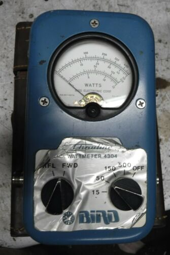 BIRD SWR METER 4304 WITH CASE   FREE SHIPPING
