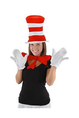 Dr Seuss The Cat in the Hat - The Cat in the Hat Accessory Kit (Adult) One Size