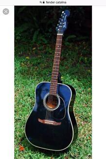 Wanted: WANTED FENDER catalina acoustic guitar