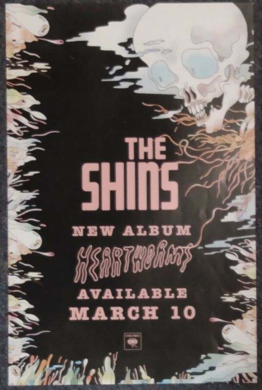 The Shins 2017 DOUBLE-SIDED PROMO POSTER