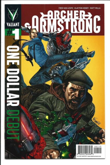 ONE DOLLAR DEBUT: ARCHER & ARMSTRONG # 1 (VALIANT, MAY 2013), NM
