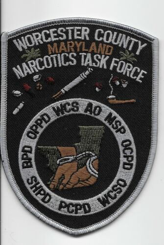 Narcotics Worcester Police State Maryland MD Sheriff State Police Task Force