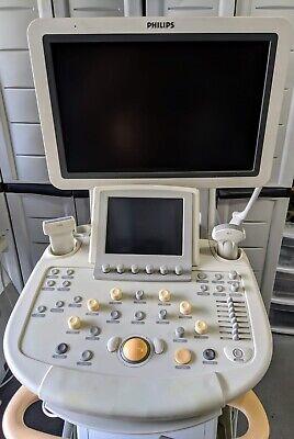 Philips Iu22 W3 Probes L9 Linear C5 Convex C8 Microconvex Ultrasound Unit
