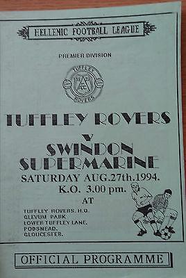 Tuffley Rovers v Swindon Supermarine 94/5