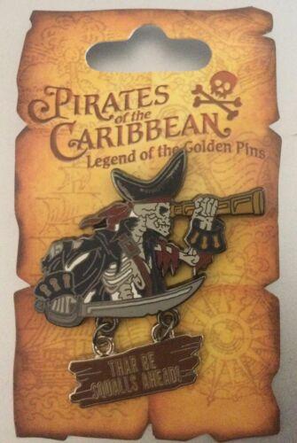 Pin 47074 Pirates of the Caribbean - Skeleton Telescope Pin
