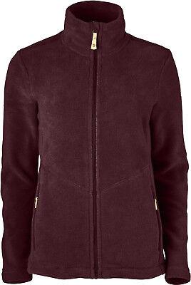 Alice Bekleidung (Fjällräven Alice Fleece 90643 dark garnet Damen Active Wool Jacke Damenfleece )