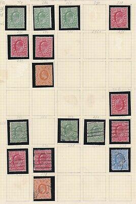 Lot:38944  GB EDVII  Jubilee style issue  unused Mint & used selection to Harris