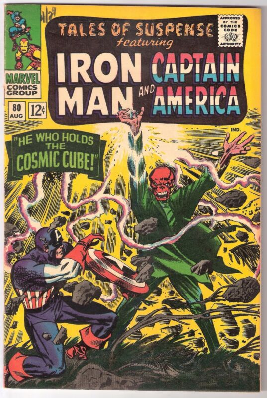 TALES OF SUSPENSE #80, MARVEL 1966, VF/NM CONDITION