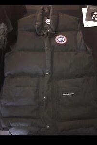 Canada goose Vest (black)