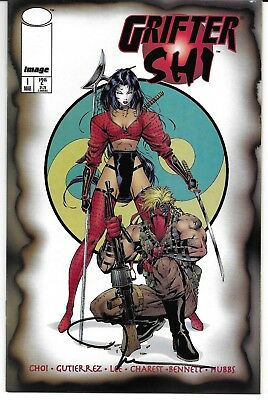 Griffter/Shi #1 Signed by Billy Tucci Autographed Image Wildstorm Crusade