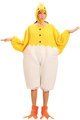 Küken-Kostüm für Erwachsene Maskottchen - Küken Kostüm